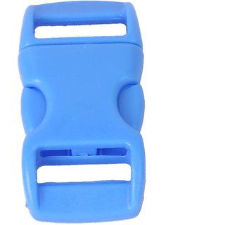 50Pcs 3/8 Inch Side Release Plastic Buckles Light Blue