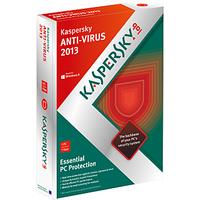 Kaspersky Anti-Virus 2013 3 User 1 year Antivirus