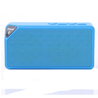 Paracops X3S Wireless Portable Speaker Red Color
