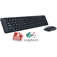 Logitech MK100 PS/2 Keyboard And USB Mouse Combo (Black)