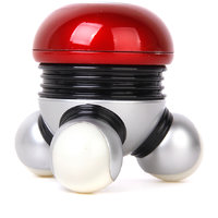 Mini Handheld Vibrating Massage Full Body 3 Heads Massager