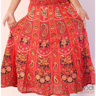 Handicrunch paisley print skirt for girls