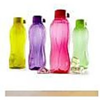 TUPPERWARE 500 ML AQUA SAFE WATER BOTTLES SET OF 4
