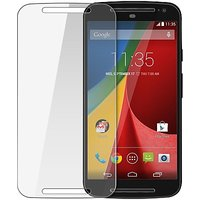 CrackerDeal Tempered Glass For Moto G (2nd Gen)  (Premium  Screen Protector)