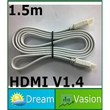 1.5 Meter HDMI 1.4 Version Male To Male Cable Support 3D 1080P Ethernet 4 HD TV