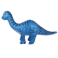 Inflatable Blow-Up Brachiosaurus Toy Party Favour Blue