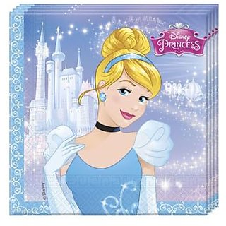 CinderellaS Fairytale-Two-Ply Paper Napkins