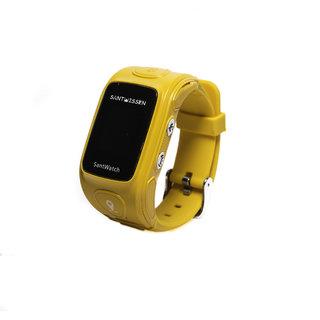 SantWatch (Yellow) Wearable kids GPS tracker phone personal care taker