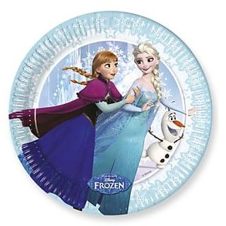 Frozen Ice Skating-Paper Plates