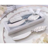 Wedding Favors Leaf Shape Butter Knife