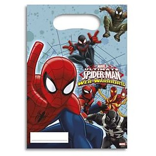 Ultimate Spiderman Web Warriors-Party Bags