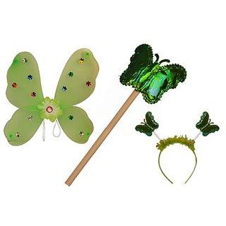 Plastic Wingset Single Layer - Green