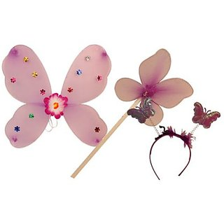 Plastic Wingset Single Layer - Purple