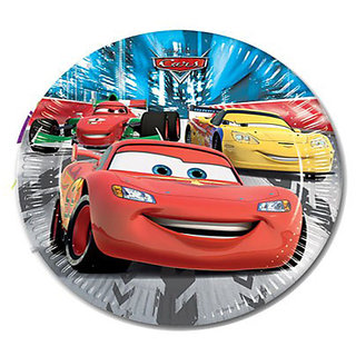 Cars- Paper Plates