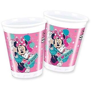 Minnie Dots-Plastic Cups