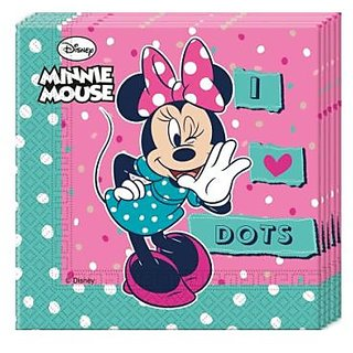 Minnie Dots-Two-Ply Paper Napkins