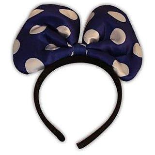 Plastic Small Size Headband Without Light - Blue