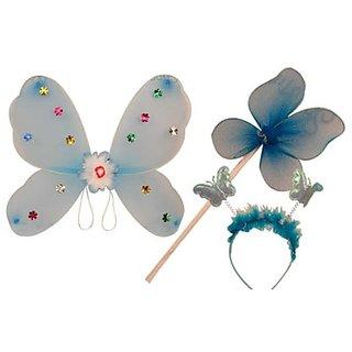 Plastic Wingset Single Layer - Blue