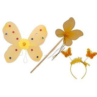 Plastic Wingset Single Layer - Yellow