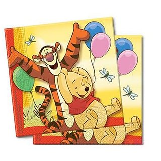 Winnie The Pooh - Two Ply Paper Napkins