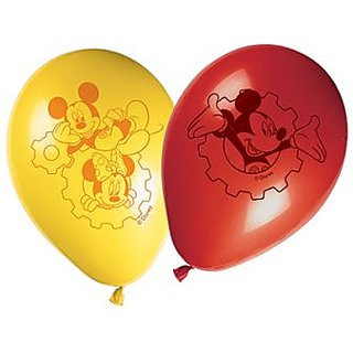 Playful Mickey Printed Balloons