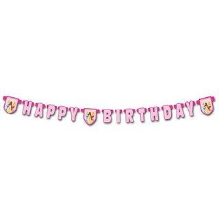 Disney Princess - Happy Birthday Die Cut Banner