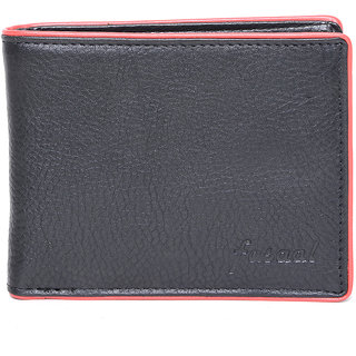 Fasaal mens leather stylish multi color wallet