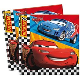 Cars Two-Ply Paper Napkin