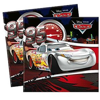 Cars Silver Edition Two-Ply Paper Napkin
