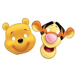 Winnie The Pooh- Die Cut Paper Mask