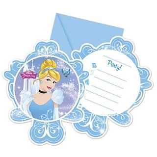 CinderellaS Fairytale-Die-Cut Invitations  Envelopes