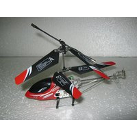 RECHARGEABLE REMOTE RADIO CONTROL HELICOPTER - RED & BLACK - ENJOYBLE TO PLAY [CLONE]