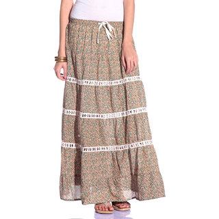 Styleava Gorgeous Multi Color Skirt