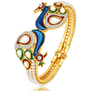 Sukkhi Gold Plated Multicolor Alloy Bajuband/ Armlet For Women