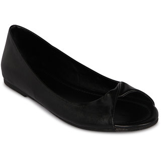 Flora Casual Wear Black Flat Bellies