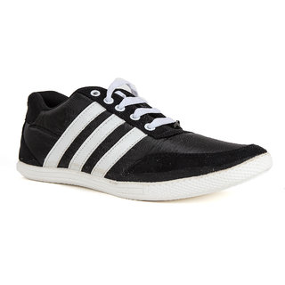 Runner Chief Mens Black - White Sneakers