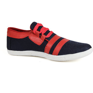 Runner Chief Mens Blue - Red Sneakers