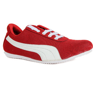 Runner Chief Mens Red - White Sneakers