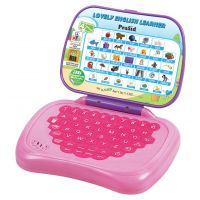 PraSid Lovely English Learner Kids Laptop PinkPurple