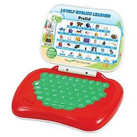 PraSid Lovely English Learner Kids Laptop (Red,Green)