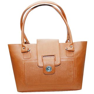 Fenz Multi Wok Sandy Brown Handbag