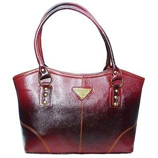 Fenz All Purpose Maroon Shade Handbag