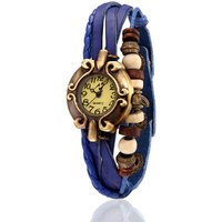Yepme WomenS Bracelet Watch - Cream/Blue