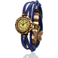 Yepme WomenS Bracelet Watch - Cream/Blue - 83356368