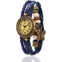 Yepme WomenS Bracelet Watch - Cream/Blue - 83356380