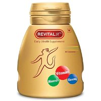 Ranbaxy Revital, Unflavoured 30 Capsules Set Of 2