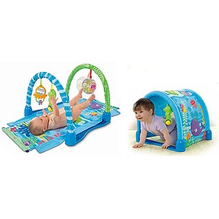 fisher price ocean wonders kick and crawl gym instructions