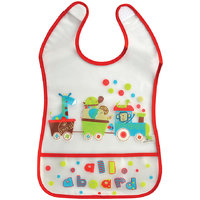 Mee Mee Little Foodies Plastic Bib  MM-3772-Red