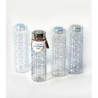 Steelo 1000ml X 4 Pcs Premium PET Bottle Set (Solitaire)