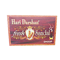 Hari Darshan Fresh Sandal Dhoop Sticks Pack Of Ten